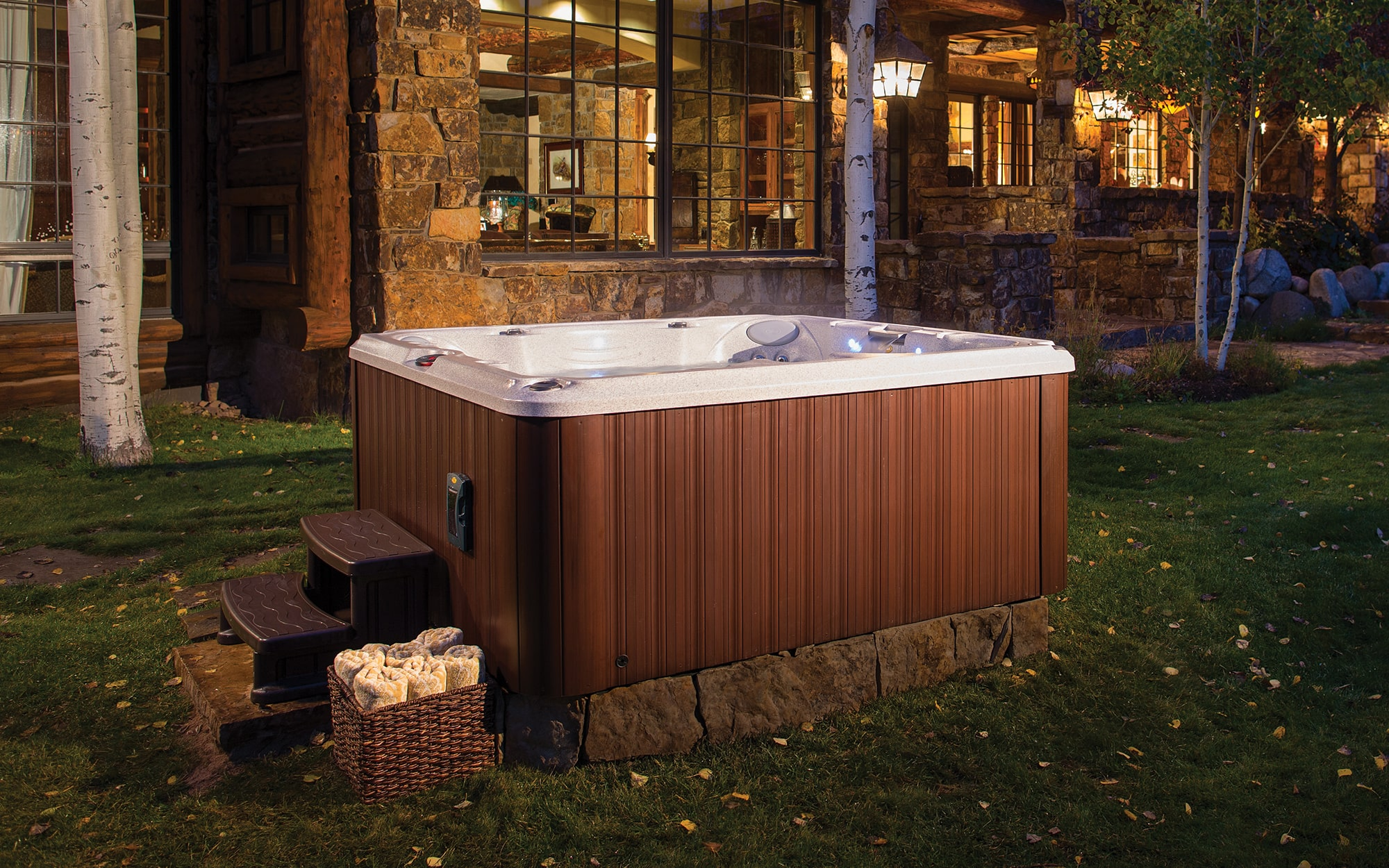 Jacuzzi Hot Tubs J-245 Installation