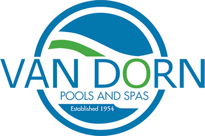 Van Dorn Pools and Spas logo