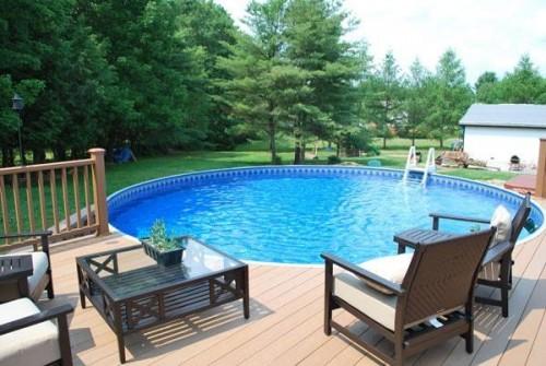 Metric Round Swimming Pool