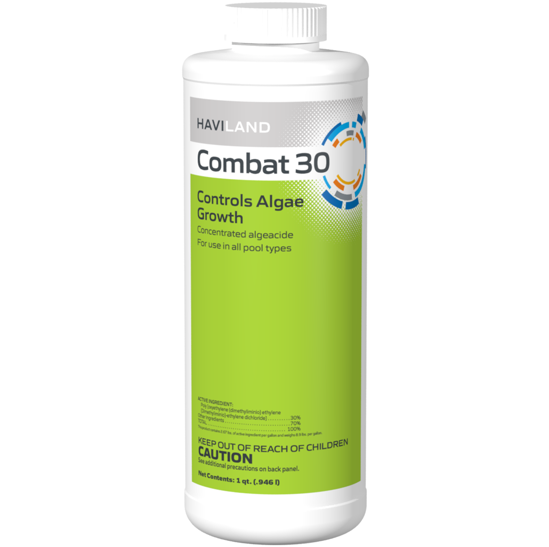 1 qt. Combat 30 Algaecide