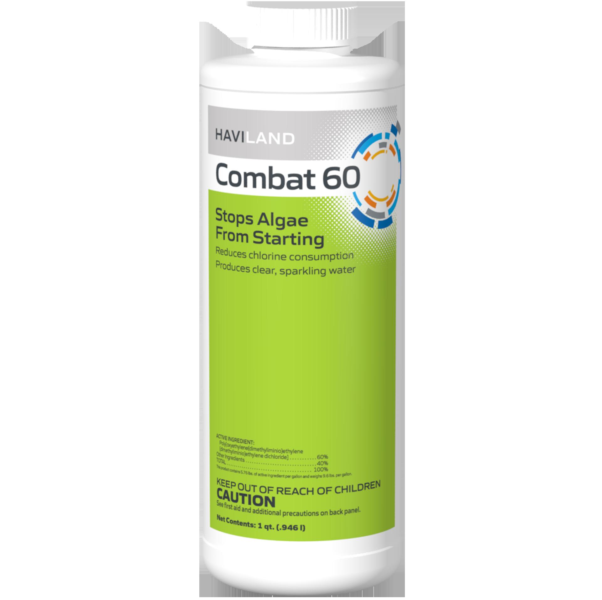 1 qt. Combat 60 Algaecide