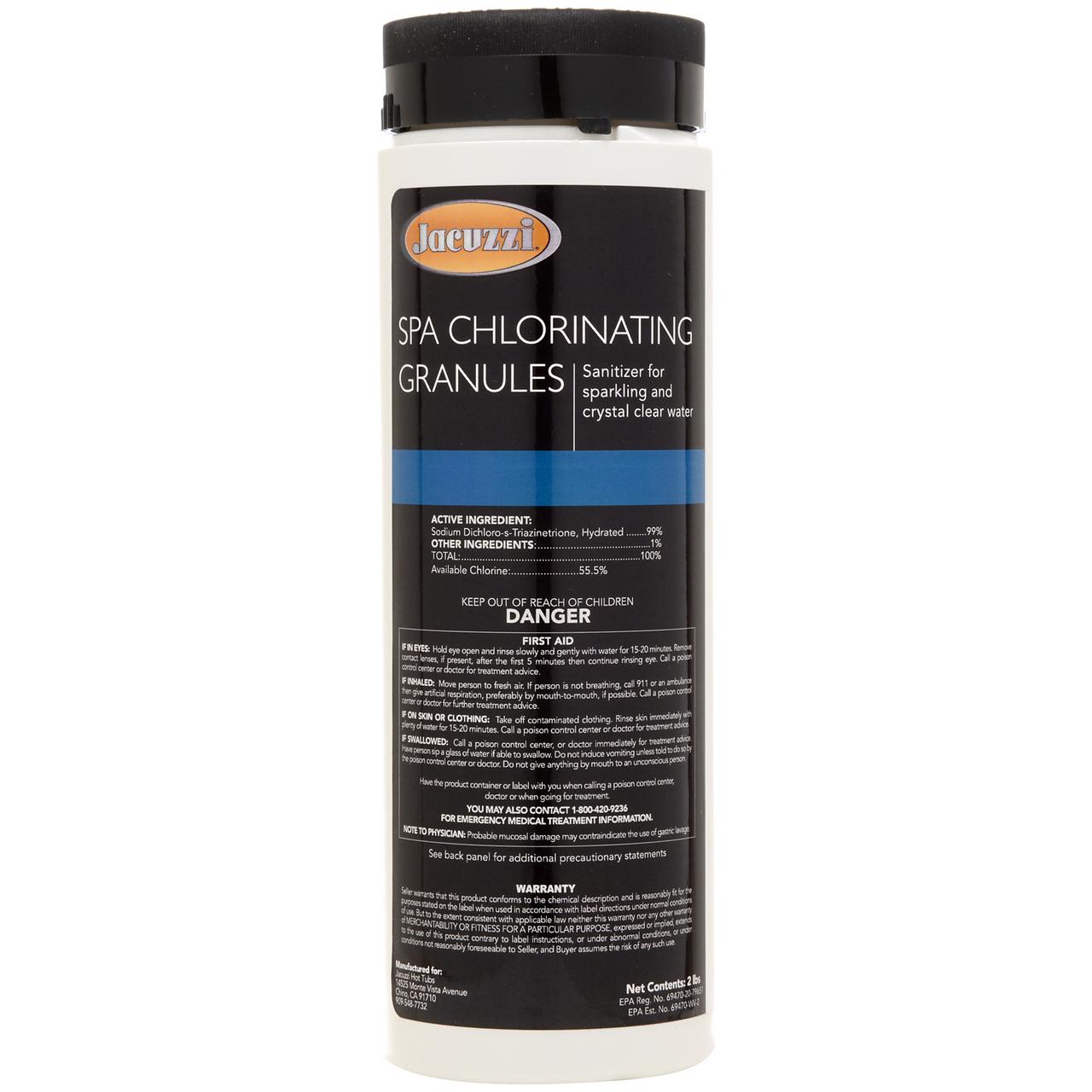 JCC 2473-120-Chlorinating Granules 2-LB