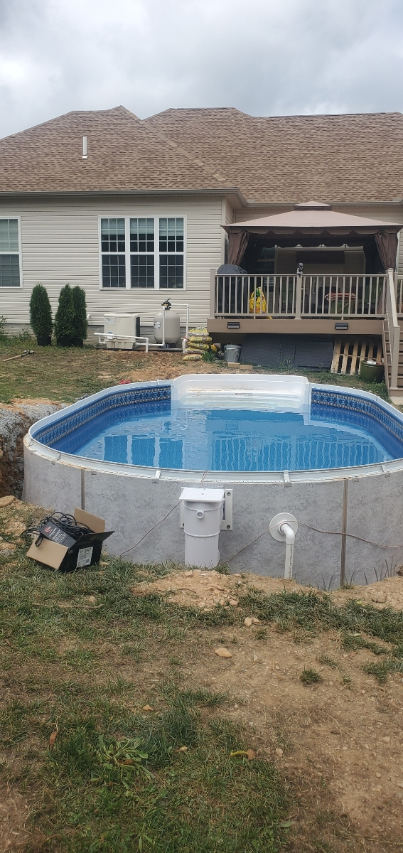 pool installation in shrewsbury by van dorn pools and spas