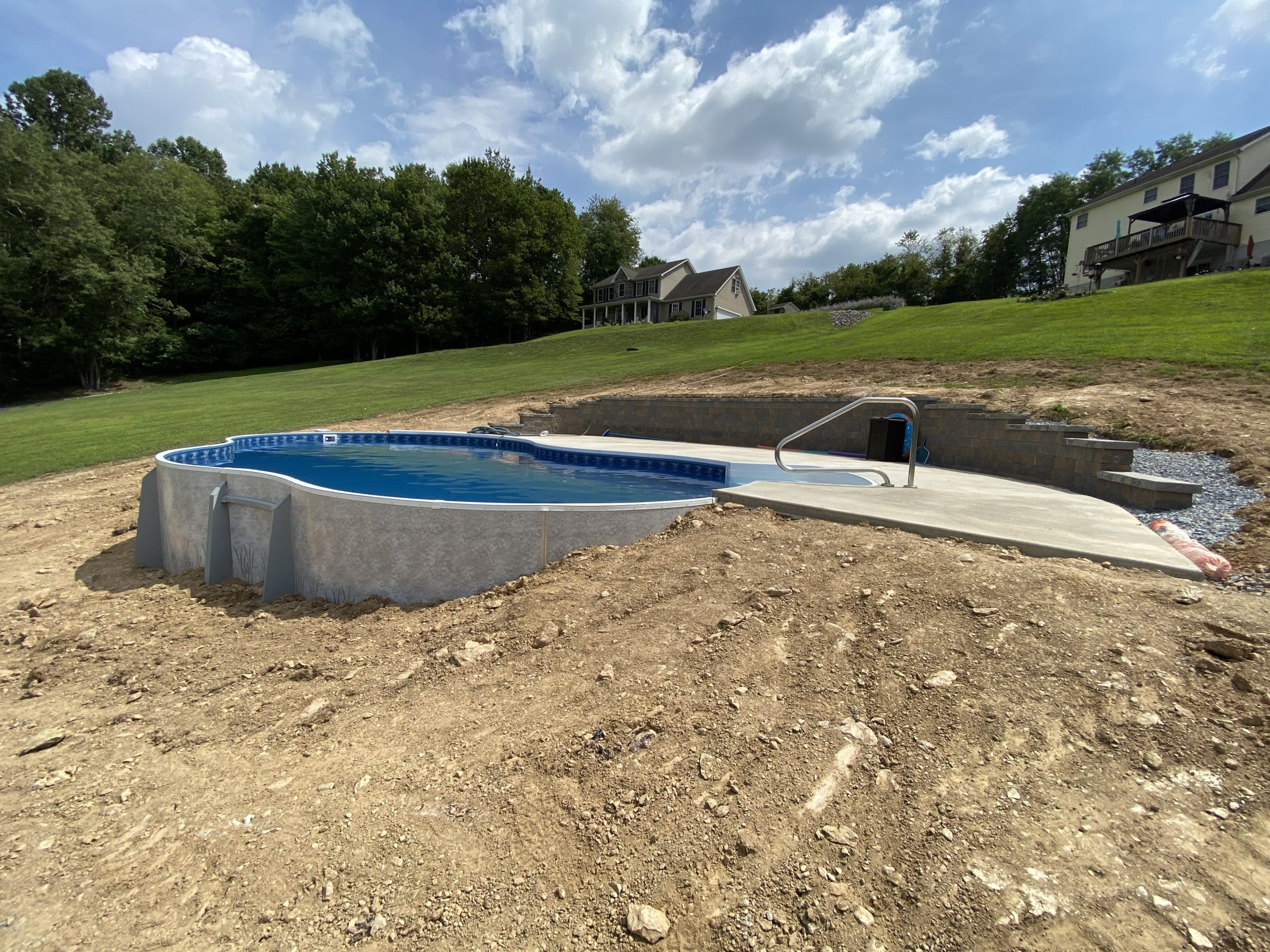 Pool Construction in Reisterstown, MD by Van Dorn Pools