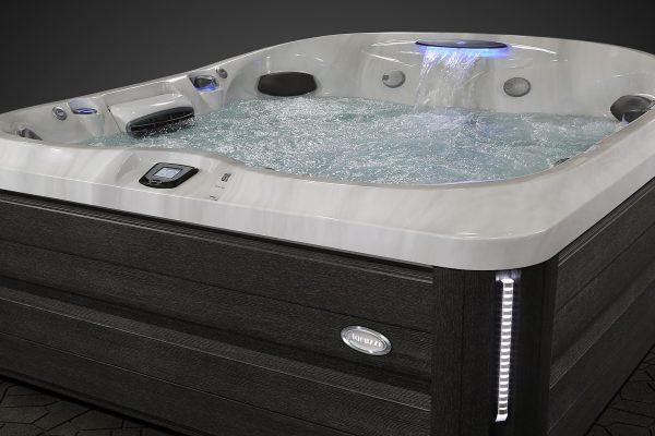 Jacuzzi Hot Tub Cabinet Dark Gray